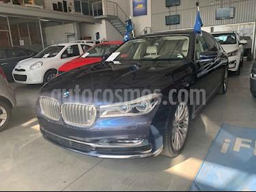 BMW Serie 7 4p 750Li Excellence V8/4.4/T Aut usado (2017) color Azul precio $1,289,000