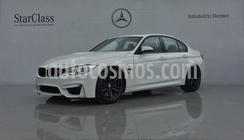 BMW Serie M M3 Sedan Aut usado (2015) color Blanco precio $849,900