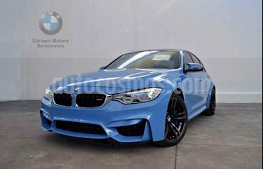 BMW Serie M M3 Sedan usado (2017) color Azul precio $890,000