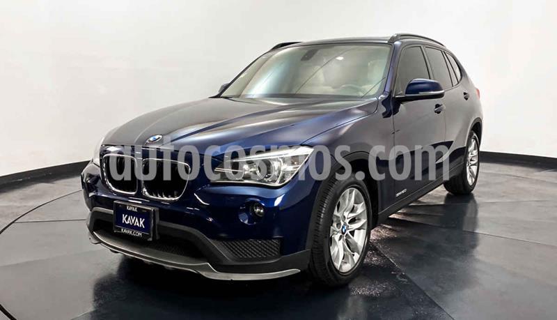 BMW X1 sDrive 20iA Sport Line usado (2015) color Azul precio $302,999