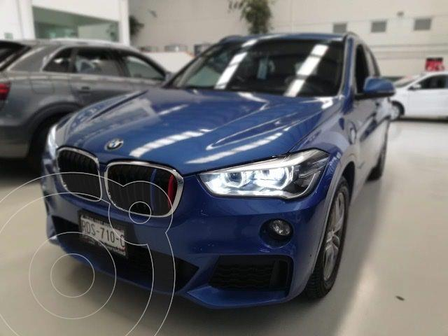 BMW X1 sDrive 20iA M Sport usado (2017) color Azul precio $419,100