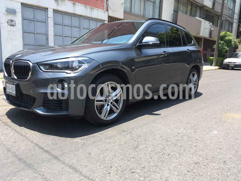 Foto BMW X1 sDrive 20iA Sport Line usado (2019) color Gris precio $510,000