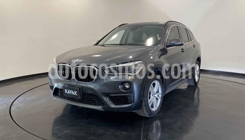 BMW X1 sDrive 20iA X Line usado (2016) color Gris precio $359,999