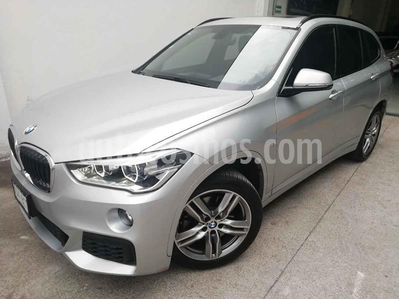 BMW X1 sDrive 20iA Sport Line usado (2019) color Plata precio $498,000