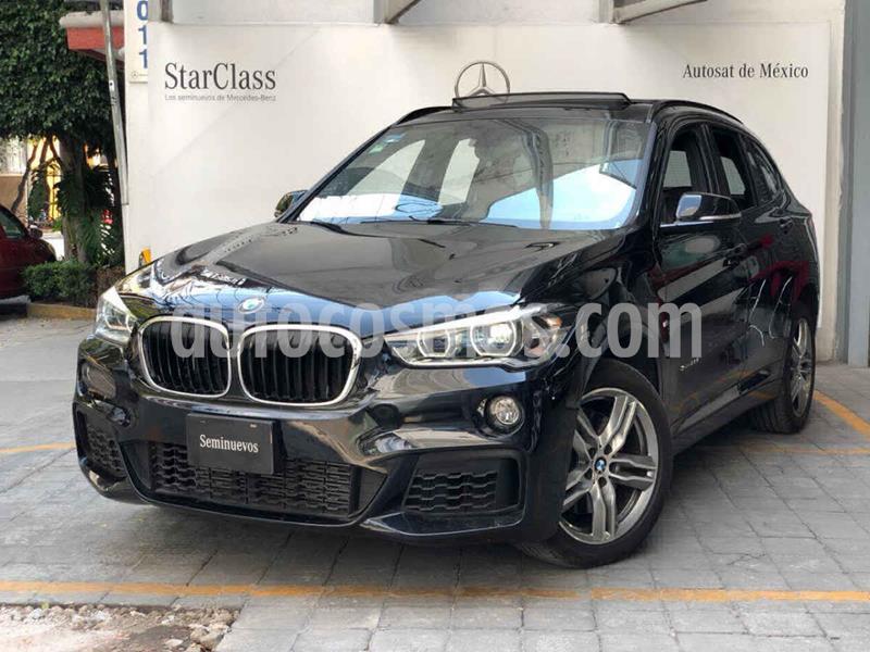 BMW X1 sDrive 20iA Sport Line usado (2018) color Negro precio $475,000