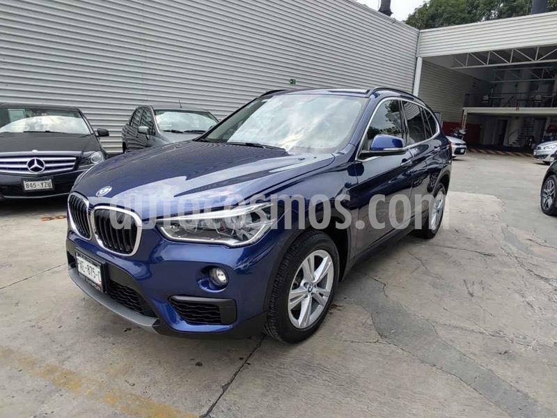 BMW X1 sDrive 18iA usado (2019) color Azul precio $395,000