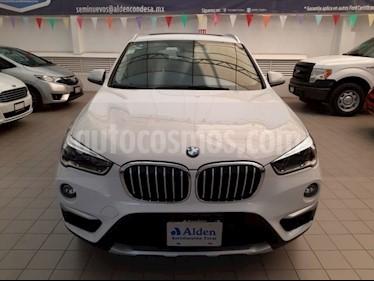 Foto BMW X1 sDrive 20iA X Line usado (2018) color Blanco precio $448,000