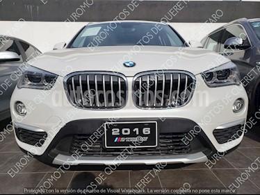 Foto venta Auto Seminuevo BMW X1 sDrive 20iA X Line (2016) color Blanco precio $420,000