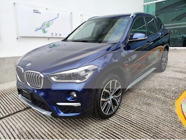 Foto venta Auto usado BMW X1 sDrive 20iA X Line (2019) color Azul Medianoche precio $498,501