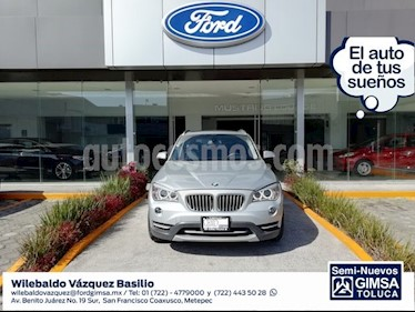 Foto venta Auto Seminuevo BMW X1 sDrive 28iA X Line  (2014) color Plata precio $228,000