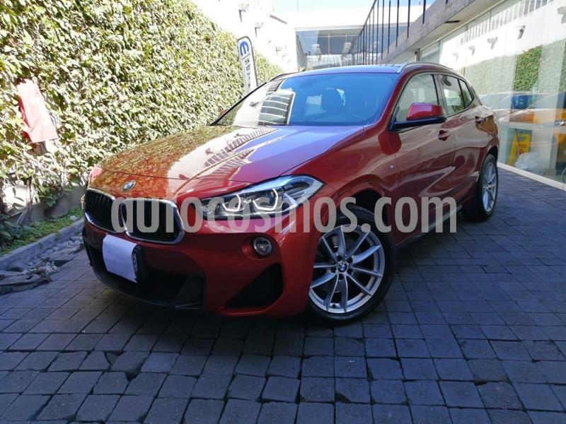 BMW X2 sDrive20iA M Sport usado (2019) color Naranja precio $510,000
