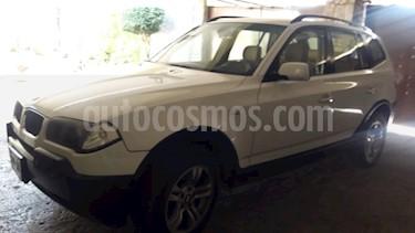 Foto venta Auto Seminuevo BMW X3 2.5i Lujo (2006) color Blanco precio $120,000