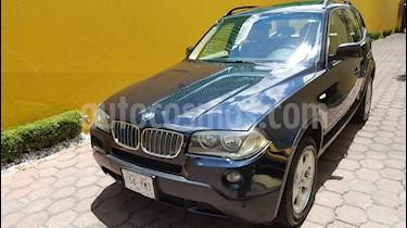 BMW X3 2.5iA Lujo usado (2010) color Azul precio $210,000