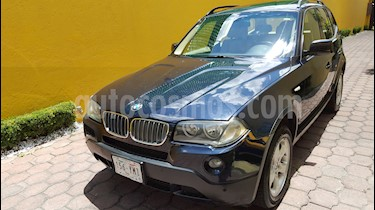 Foto venta Auto usado BMW X3 2.5iA Lujo (2010) color Azul precio $210,000