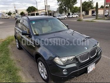 Foto venta Auto usado BMW X3 2.5iA Top (2008) color Verde Oliva precio $155,000
