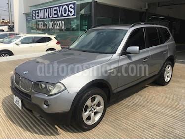 Foto venta Auto Seminuevo BMW X3 2.5siA Lujo (2007) color Gris precio $145,000