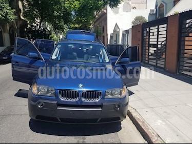 Foto venta Auto usado BMW X3 3.0d Executive (2008) color Azul Mediterraneo precio u$s16.200