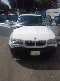 BMW X3 3.0i  usado (2006) color Blanco precio $120,000