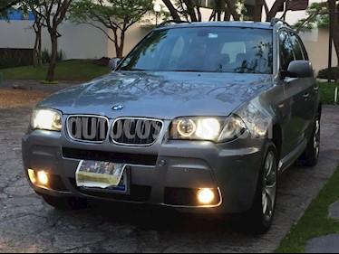 BMW X3 3.0iA Sport usado (2008) color Gris Oscuro precio $180,000