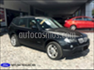 BMW X3 5P 3.0SIA SOUND PACKAGE AUT usado (2009) color Negro precio $158,000
