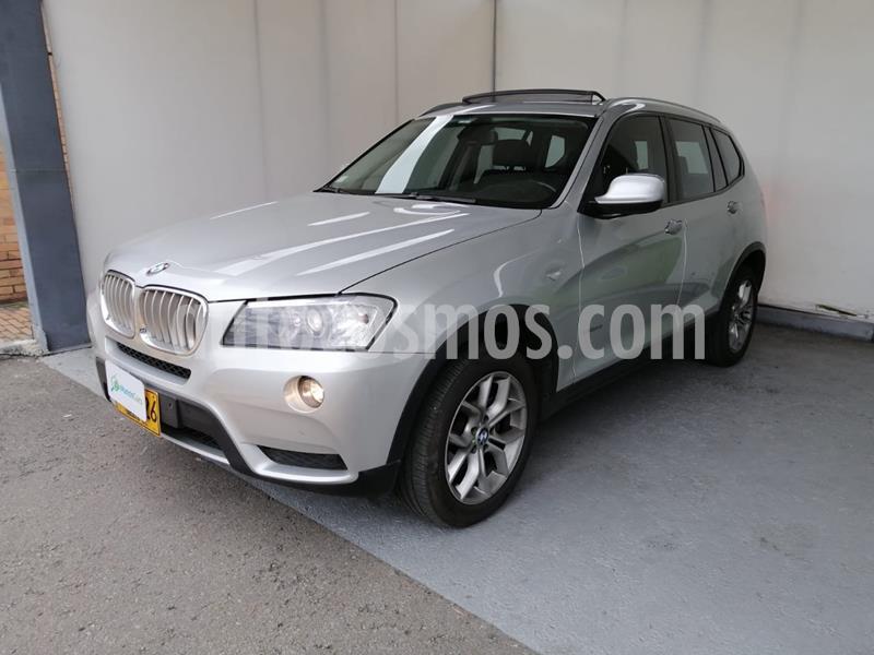 BMW X3 xDrive35i  usado (2012) color Plata Titanium precio $63.500.000