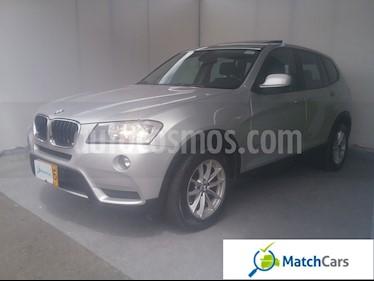 BMW X3 xDrive 20i usado (2012) color Plata precio $60.990.000