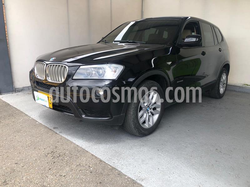 BMW X3 xDrive 28i usado (2012) color Negro Zafiro precio $61.990.000