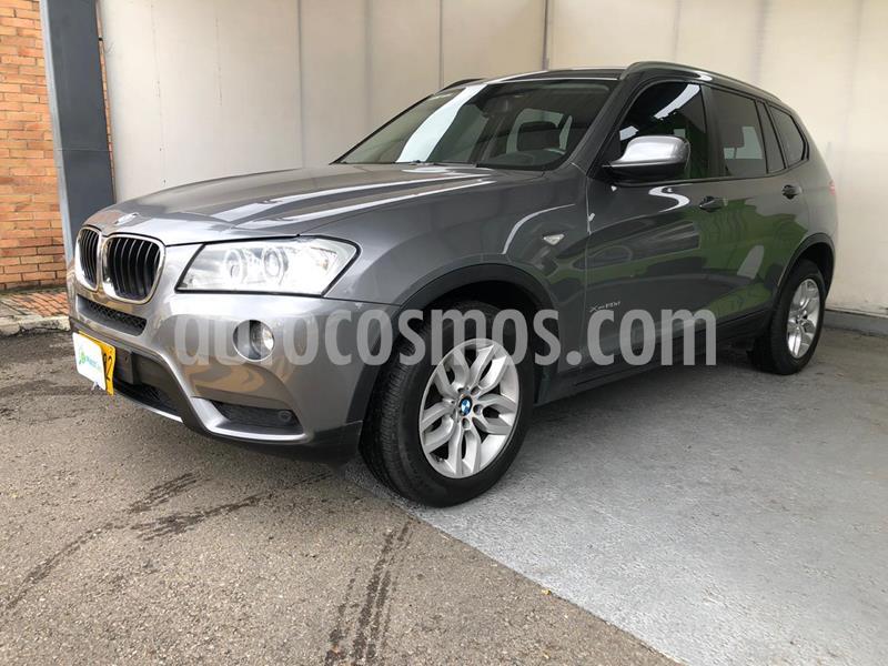 BMW X3 xDrive 20d usado (2014) color Gris Space precio $71.990.000