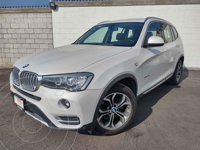 Foto BMW X3 xDrive28iA usado (2017) color Blanco precio $439,000