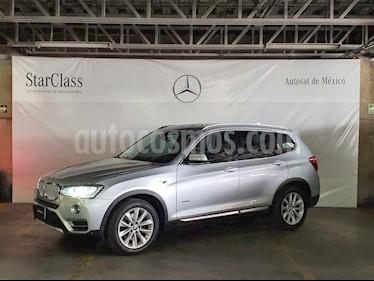 BMW X3 5p xDrive 28i L4/2.0/T Aut usado (2015) color Plata precio $359,000