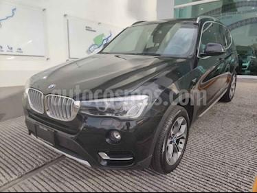 BMW X3 5p 3.0 xDrive 28iA X Line AT usado (2017) color Negro precio $460,000