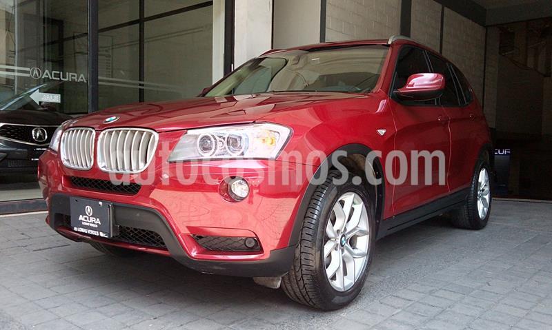 BMW X3 xDrive28iA Top usado (2012) color Rojo precio $254,000