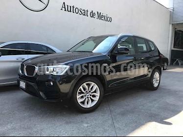 BMW X3 xDrive35iA X Line usado (2016) color Negro precio $345,000