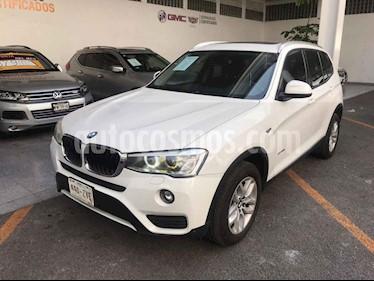 BMW X3 5p xDrive 20i L4/2.0/T Aut usado (2015) color Blanco precio $289,000