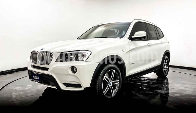 BMW X3 xDrive28iA Lujo usado (2014) color Blanco precio $309,999
