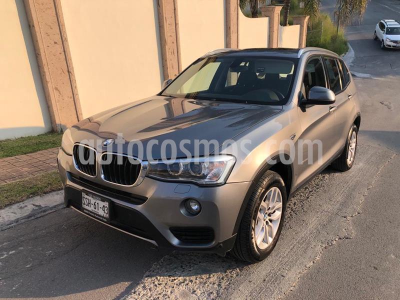 BMW X3 sDrive20iA usado (2015) color Gris precio $280,000