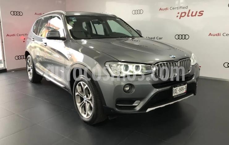 BMW X3 xDrive28iA X Line usado (2017) color Gris precio $443,000