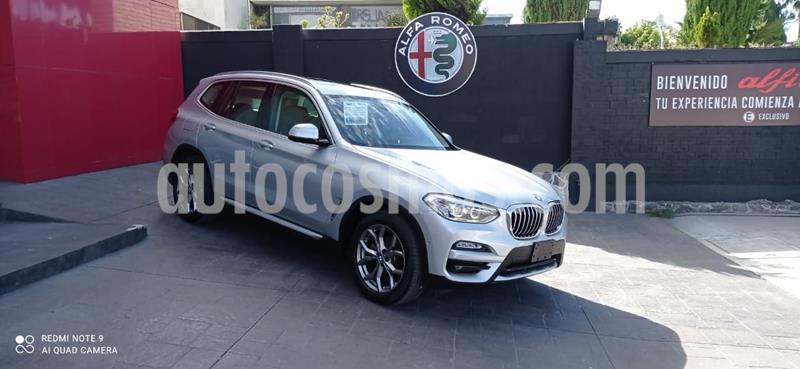 BMW X3 xDrive30iA X Line usado (2020) color Plata Dorado precio $780,000