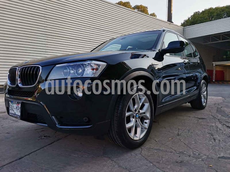 BMW X3 xDrive28iA Top usado (2013) color Negro precio $289,000