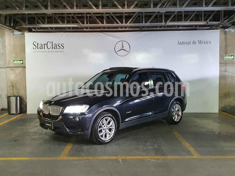 BMW X3 xDrive28iA Top usado (2013) color Negro precio $299,000