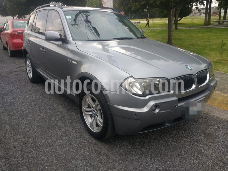 BMW X3 2.5i Top usado (2006) color Gris Oscuro precio $115,000