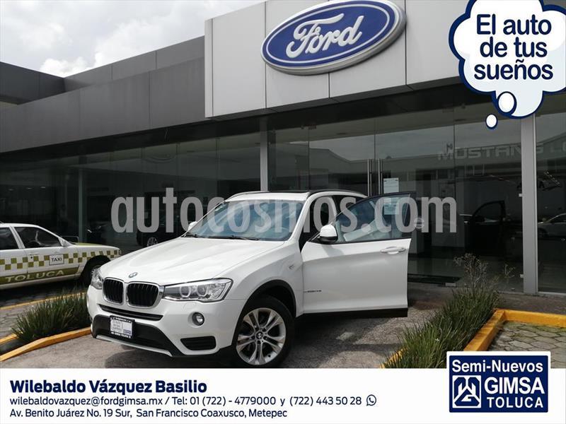 BMW X3 X3 SDRIVE20IA usado (2017) color Blanco precio $399,000
