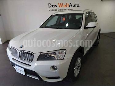 BMW X3 xDrive28iA Lujo usado (2013) color Blanco precio $259,000