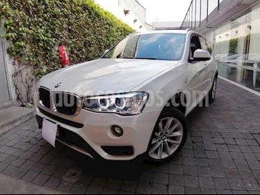 BMW X3 5P 20I TA usado (2017) color Blanco precio $430,000