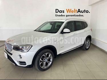 BMW X3 5p xDrive 28i X Line L4/2.0/T Aut usado (2015) color Blanco precio $339,995