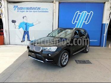 BMW X3 5p xDrive 35i X Line L6/3.0/T Aut usado (2016) color Negro precio $299,000