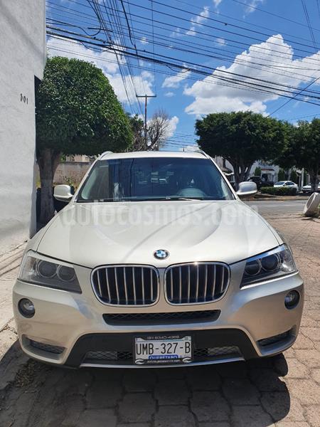 BMW X3 xDrive28iA Top usado (2014) color Plata precio $230,000