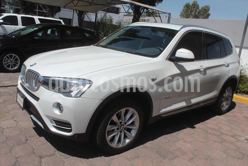 BMW X3 5P XDRIVE 28I TOPLINE L4 2.0 T AUT usado (2015) color Blanco precio $350,000