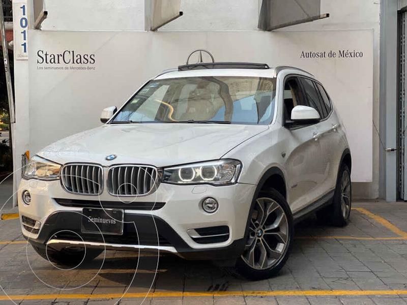 Foto BMW X3 xDrive35iA X Line usado (2015) color Blanco precio $410,000