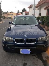 BMW X3 2.5i Top usado (2006) color Azul precio $100,000